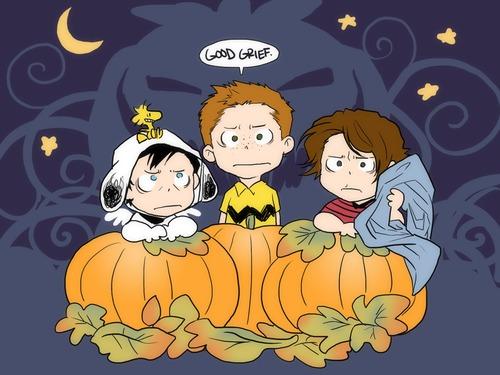 Supernatural...Charlie Brown Style