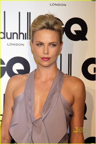 Charlize Theron: GQ Men of the Year Awards