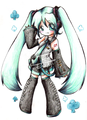 Chibi miku ^^ - vocaloid-lovers photo