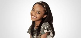 China Anne McClain wallpaper containing a portrait titled China anne McClain