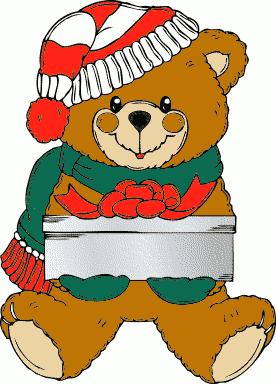 বড়দিন teddy ভালুক