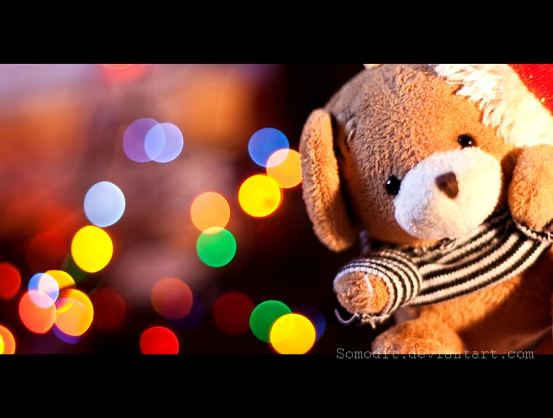 Christmas Images Christmas Teddy Bear Hd Wallpaper And Background