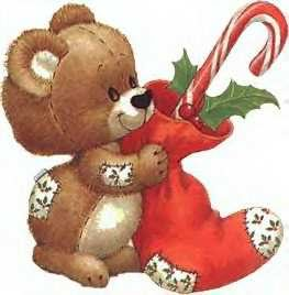 Christmas teddy برداشت, ریچھ