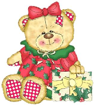 Weihnachten teddy bär