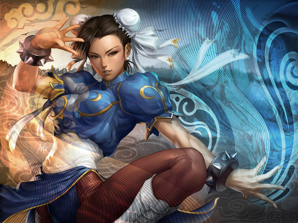 Street Fighter - Wallpaper Actress