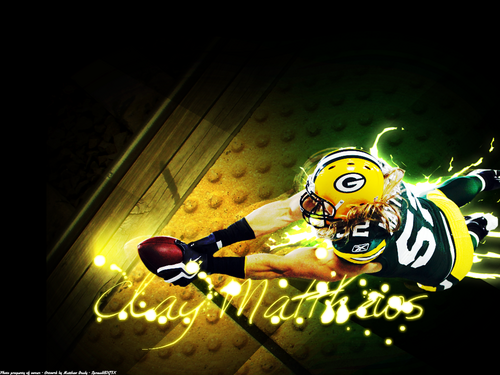 Green baía Packers wallpaper called Clay Matthews