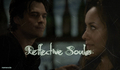 Damon and Bonnie two reflective souls