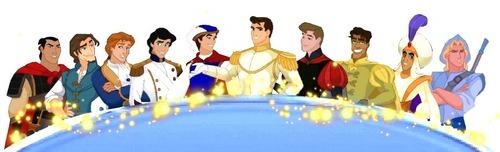 디즈니 Prince Line-Up