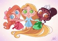 Disney Princesses as PPG