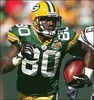 Green Bay Packers photo containing a tailback titled Donald Driver