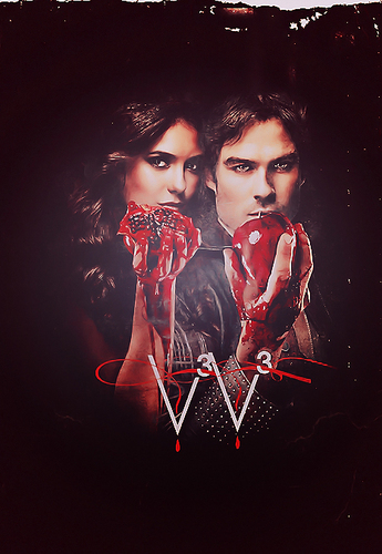 Elena and Damon S3
