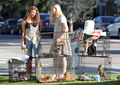 Elle Fanning goes shopping with a Friend in Santa Monica, September 3