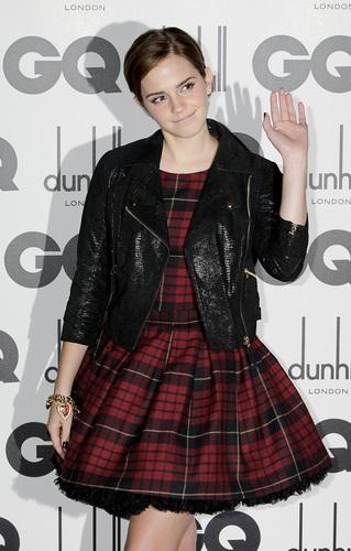 Emma - GQ Men Of The jaar Awards - September 6, 2011