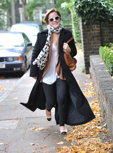 Emma Watson out in London, September 7