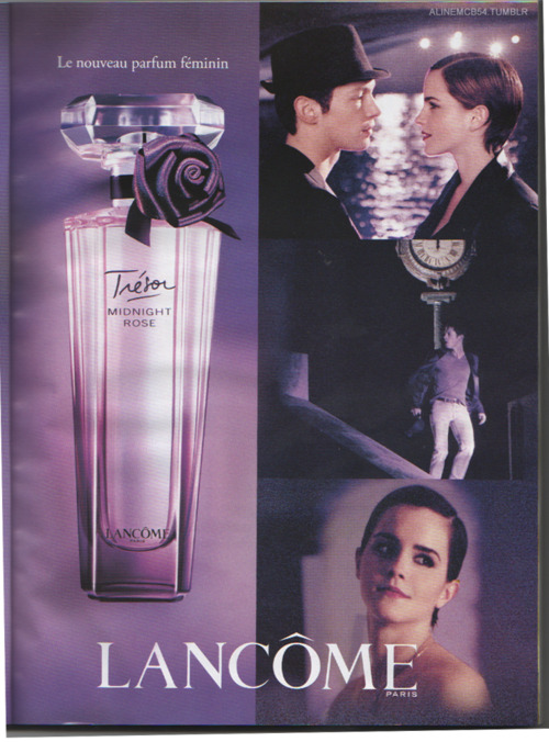 Emma on Lancome:Midnight Rose Poster - emma-watson photo