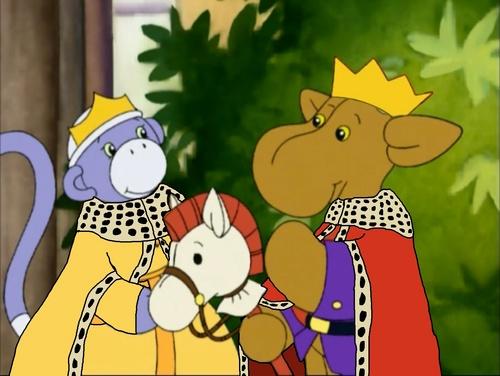 Emperor Elliot Moose and Empress Socks