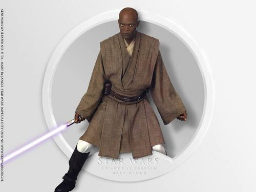 Episode II Preview Mace Windu - star-wars Wallpaper
