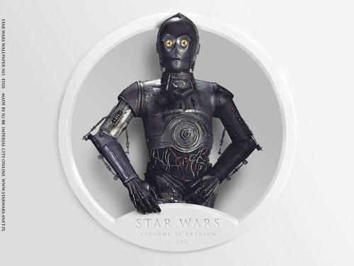 Episode II anteprima C-3PO