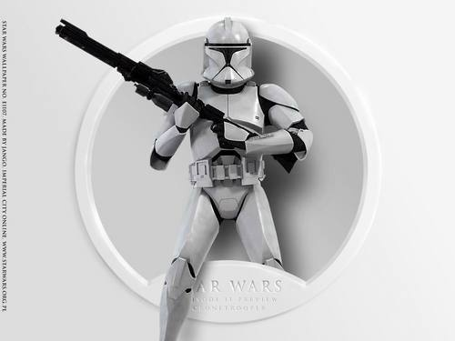 Episode II 预览 Clone trooper