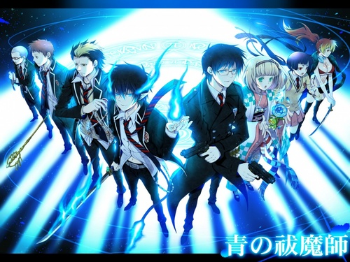 Ao no Exorcist fondo de pantalla called Exorcist