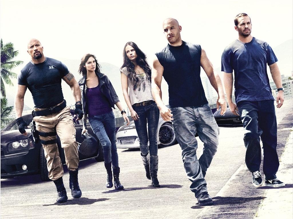 Fast Five - Brian O'Conner & Mia Toretto Wallpaper ...