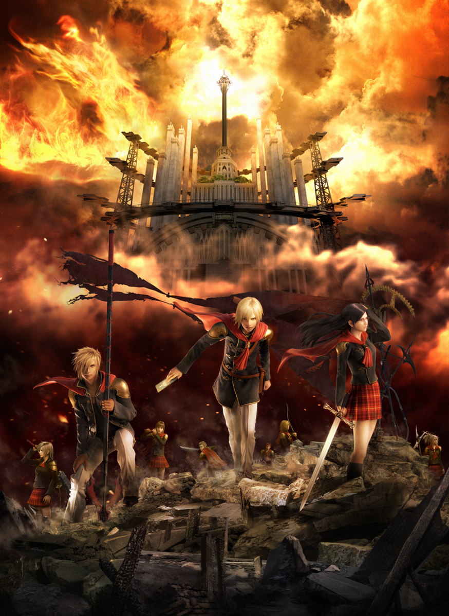 final fantasy xiii type-0 images final fantasy xiii type-0 hd