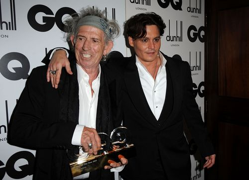 GQ Men Of The 年 Awards - Londres (06/09/2011) - Johnny Depp