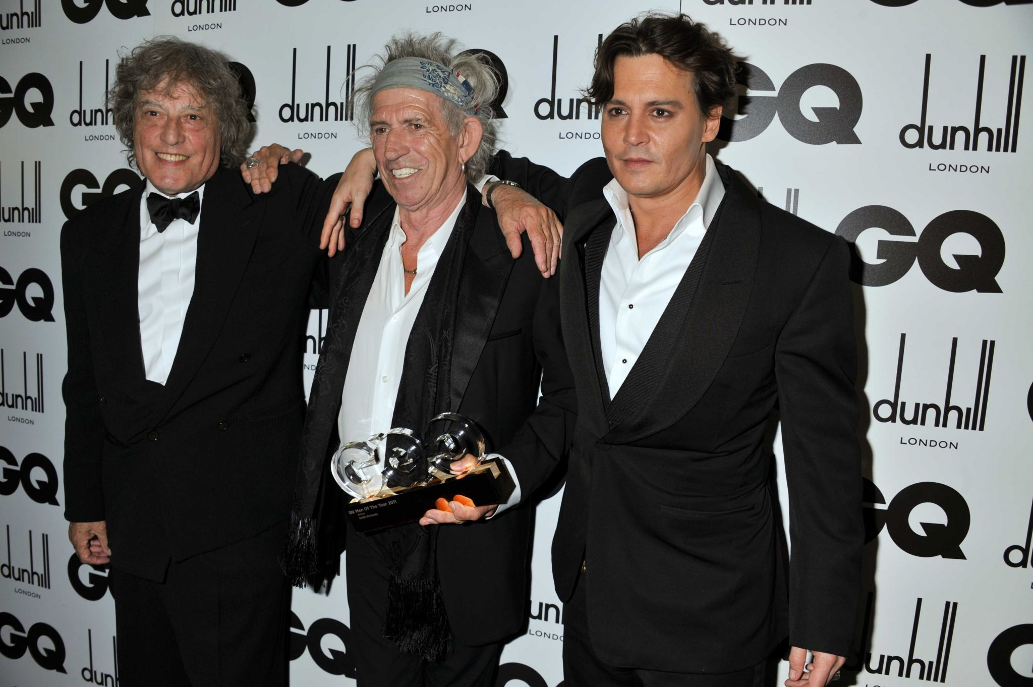 GQ Men Of The Year Awards - Londres (06/09/2011) - Johnny Depp