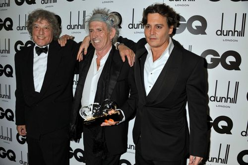 GQ Men Of The jaar Awards - Londres (06/09/2011) - Johnny Depp