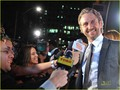 Gerard Butler: Painting the Night Red with Artists for Peace & Justice! - gerard-butler photo