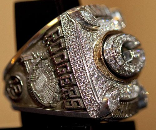 Green baya Packers - Super Bowl XLV, 2011 - Super Bowl Rings