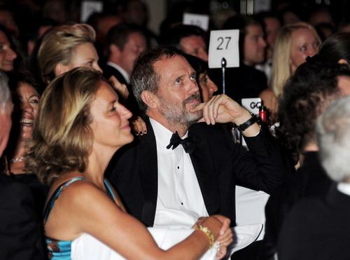 HUGH LAURIE- GQ Men to the mwaka Awards held at the Royal Opera House.06.09.2011