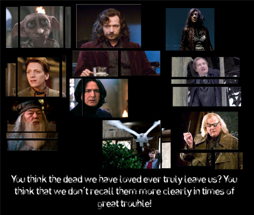 Harry Potter's dearly departed......