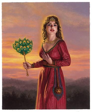 thần thoại Hy lạp hình nền possibly containing a kirtle and a áo của đàn bà, polonaise titled Hera