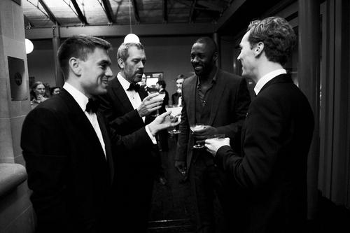 Hugh Laurie,Idris Alba and Benedict Cumberbatch -GQ Men Of The tahun Awards2011-September 2011