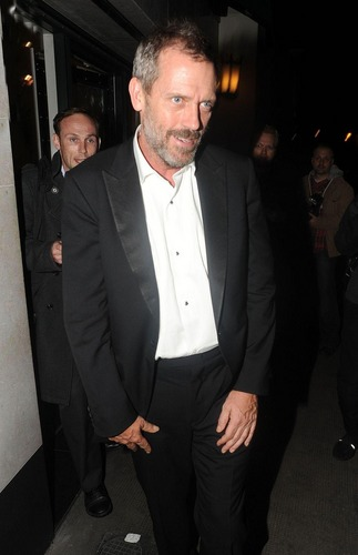 Hugh Laurie leaving the Ivy restaurant in London 06.09.2011