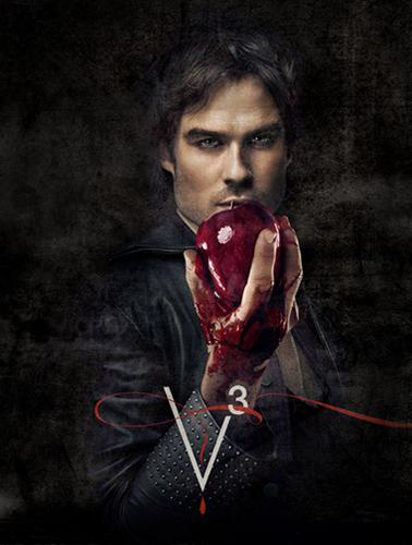 Ian as Damon Salvatore