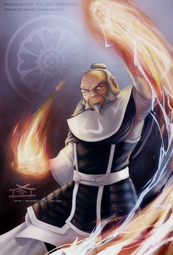 Avatar –Der Herr der Elemente Hintergrund called Iroh