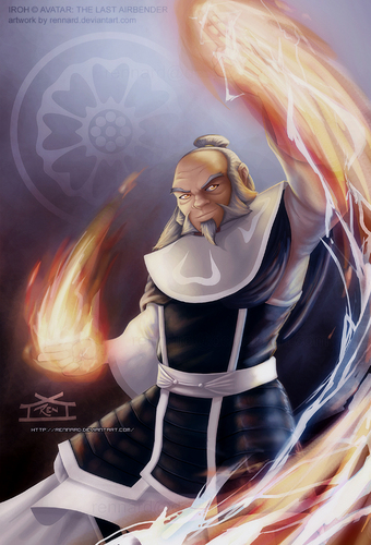avatar - La Leyenda de Aang fondo de pantalla entitled Iroh