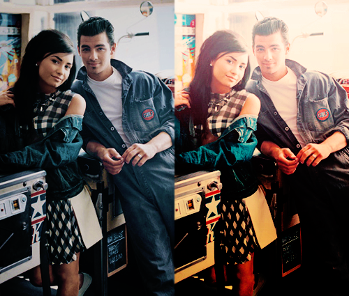 Jemi wallpaper probably with a street and an outerwear titled JEMI