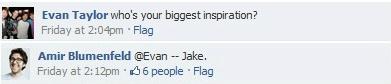 Jake shoutout on FB