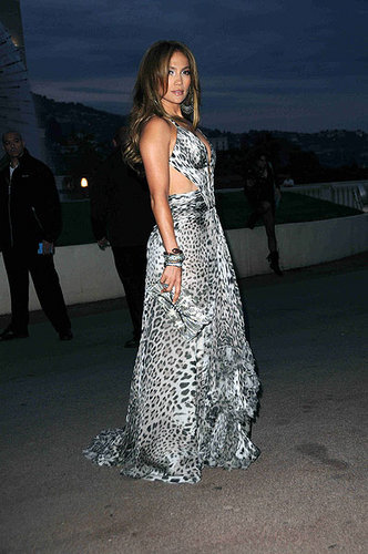 Jennifer Lopez in Leopard dress