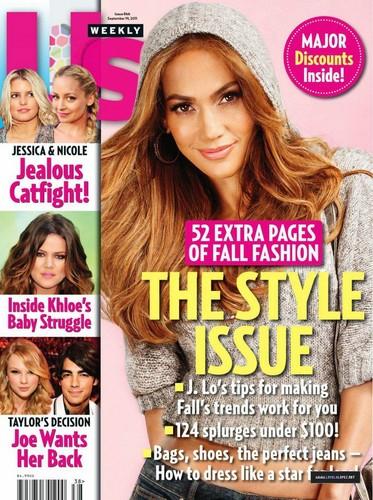 Jennifer - Magazine - USWeekly - September 2011