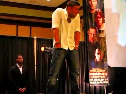 Jensen imitates Jared