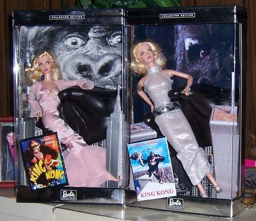 Jessica Lange King Kong Barbie