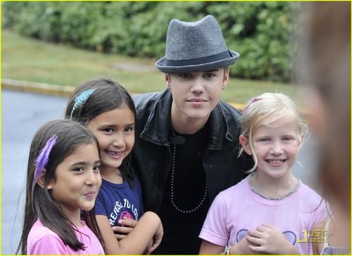 Justin Bieber: PhoneGuard PSA Shoot