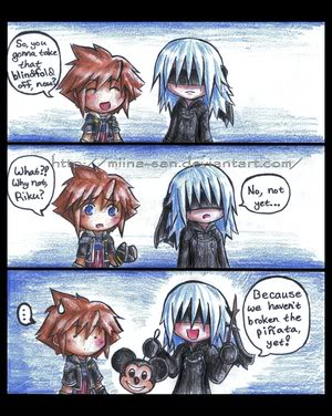 Funny kingdom hearts comics post them here