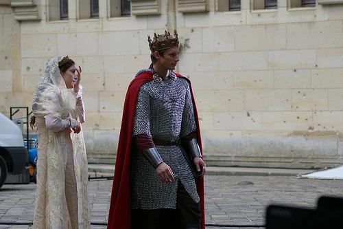 KING ARTHUR AND THE PRINCESS !!