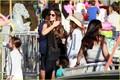 Kate Beckinsale & Lily: Malibu Chili Cook Off Gals!