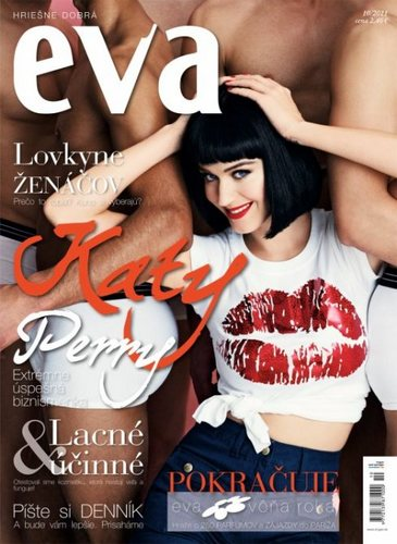 Katy Perry for Eva Magazine Slovakia October 2011